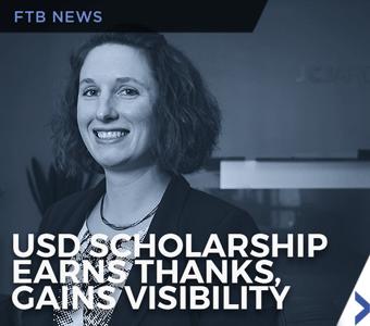 Image of Sara Miller, 2018 Finch, Thornton & Baird, LLP Scholarship recipient at USD School of Law.