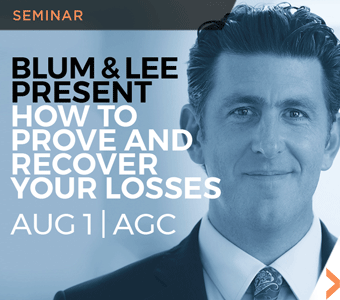 Image of Louis Blum and Denny Lee's How To Prove And Recover Your Losses seminar promotional banner.