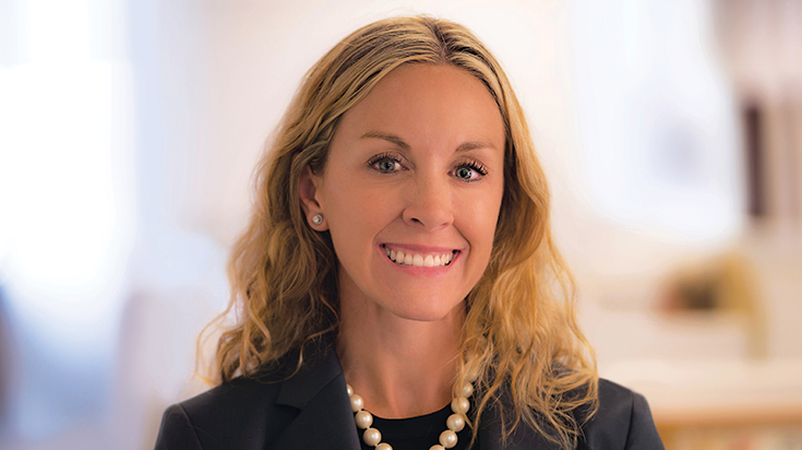 Image of Andrea L. Petray, a partner and attorney at Finch, Thornton & Baird, LLP.