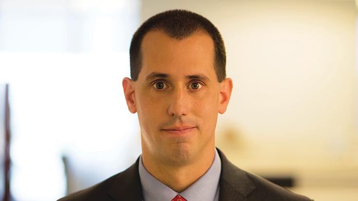 Image of Christopher R. Sillari, a partner at Finch, Thornton & Baird, LLP.