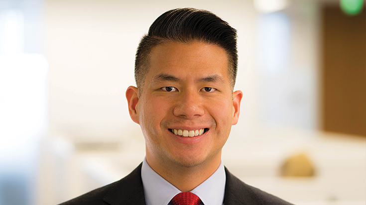 Image of Steven L. Hwang, an attorney at Finch, Thornton & Baird, LLP.