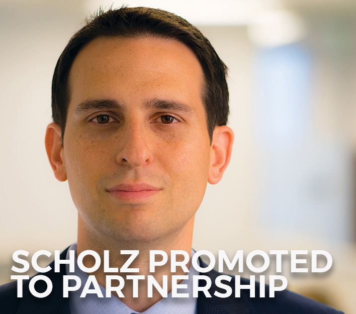 Finch, Thornton & Baird, LLP promotes Daniel P. Scholz to ...