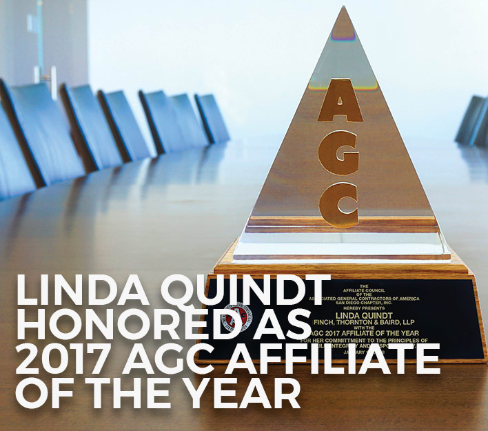 Image of 2017 AGC Affiliate of the Year Individual Award.