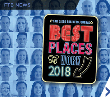 Image of SDBJ Best Places to Work in 2018 award emblem.