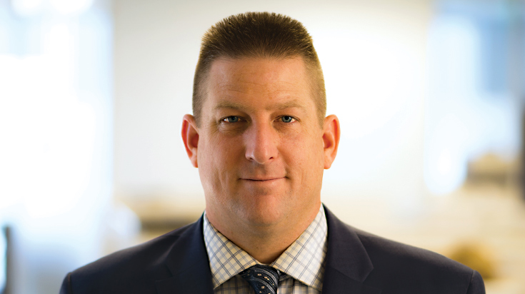 Image of Justin M. Stoger, an attorney at Finch, Thornton & Baird, LLP.