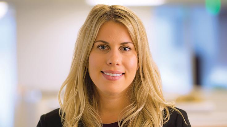 Image of Lindsey C. Herzik, associate attorney at Finch, Thornton & Baird, LLP.