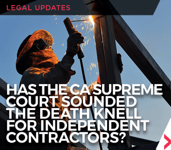 Image promoting article about the Dynamex Operations West, Inc. v. CA Superior Court decision.