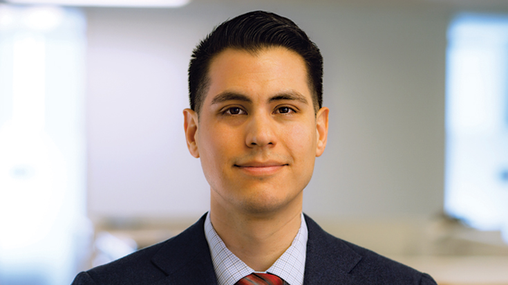 Image of H. Daniel Haro, associate attorney at Finch, Thornton & Baird, LLP.