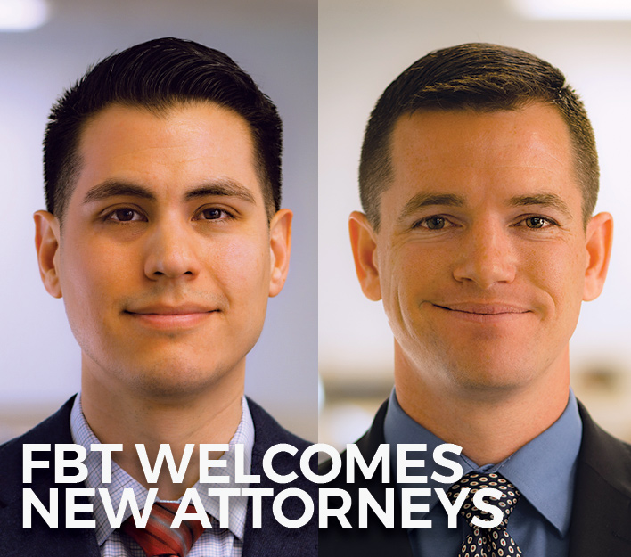 Image Of New Finch, Thornton & Baird, LLP Attorneys H. Daniel Haro And Daniel R. Spencer.