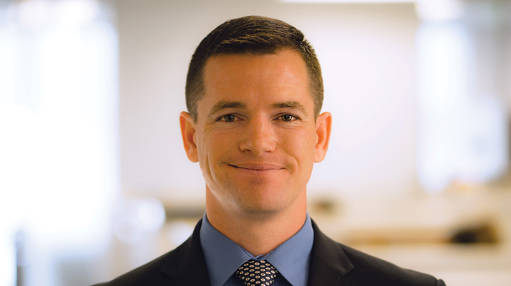 Image of Daniel R. Spencer, associate attorney at Finch, Thornton & Baird, LLP.
